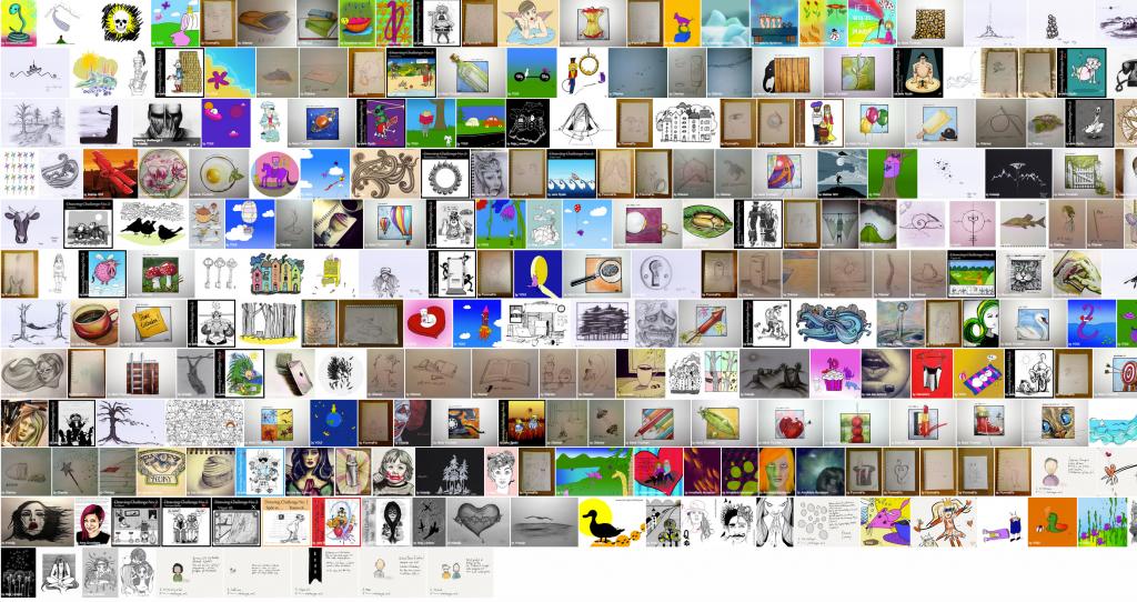 Flickrgruppen Teckningsutmaning