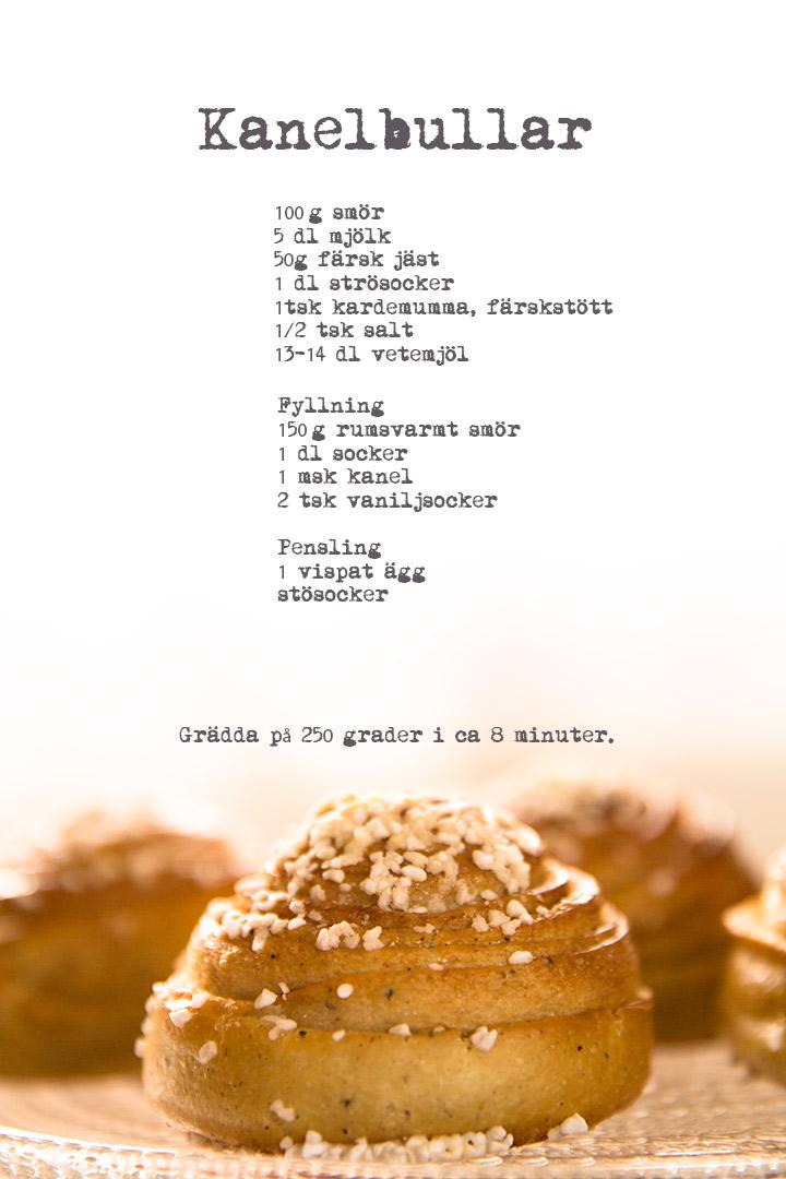 recept kanelbulle