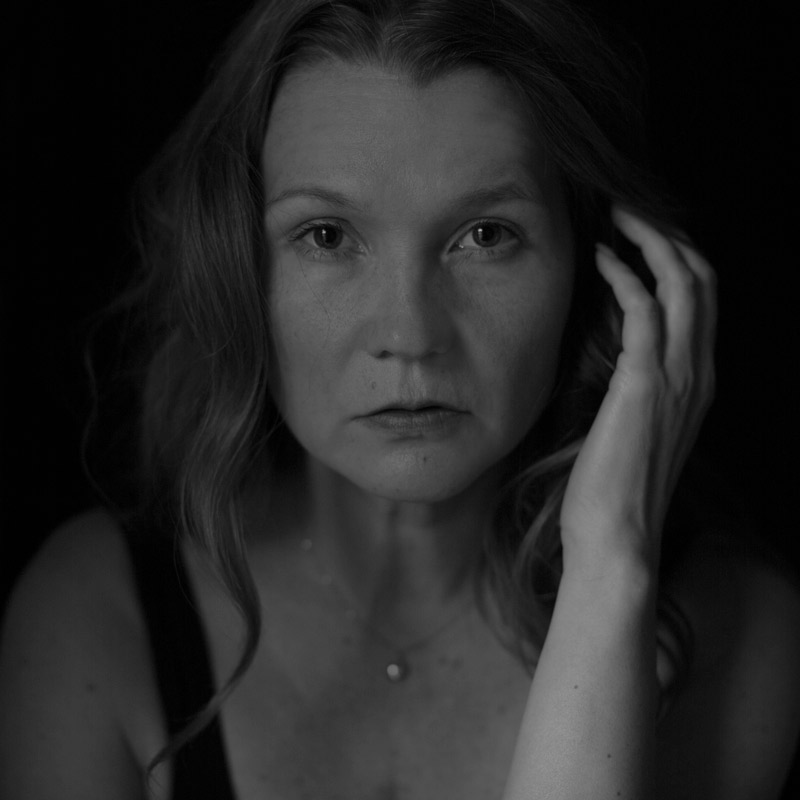 Self-portrait-4-Tiina-Petersson-BW
