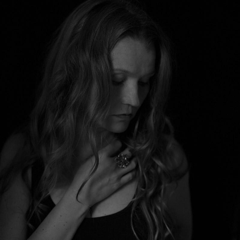 Self-portrait-5-Tiina-Petersson-BW